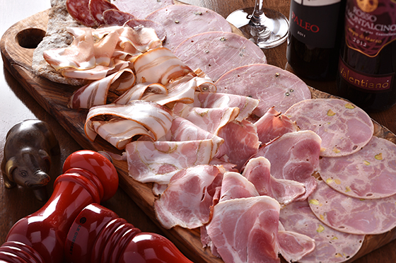 ヨーロッパ各地で愛されている加工肉