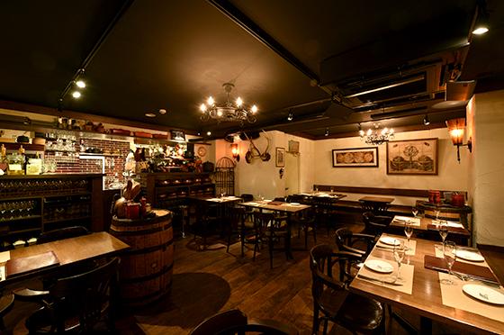 多彩なサルーミで賑わうヨーロッパ料理「CA'GINO」